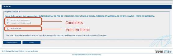 Papereta electoral 2